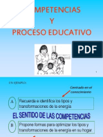 Competencias y Proceso Educativo