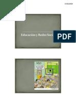 Educación y Redes Sociales 2009 [Modo de compatibilidad]