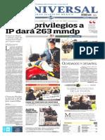 Planas Diarios Nacionales Mier 25 Sept 2013