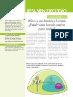 WiMax en América Latina -- Por fin banda ancha para todos