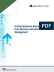 IRON MOUNTAIN Maximum Business Value eBook Final