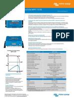 Datasheet - BlueSolar Charge Controller MPPT 75-50 - Rev 00 - FR