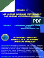 Modulo 2 - Las Normas Juridicas Materiales