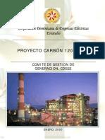 Estudio de Factibilidad de las Plantas a Carbón