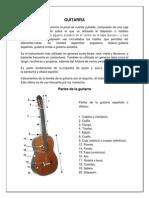 Historia y Pertes de Guitarra
