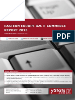 Eastern Europe B2C E-Commerce Report 2013_by yStats