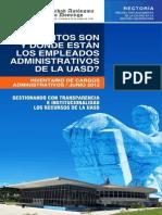 ¿CUÁNTOS SON Y DÓNDE ESTÁN LOS EMPLEADOS ADMINISTRATIVOS DE LA  UASD Final