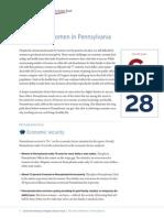 StateOfWomenFactSheet PA 130925