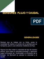 Sensor de Flujo y Caudal