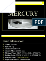 MERCURY Mercury Poisoning