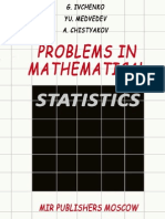MIR - Ivchenko G. I., Medvedev Yu. and Chistyakov a. - Problems in Mathematical Statistics - 1991