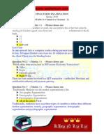 IT430- E-Commerce (Session - 3) Final Term 2010