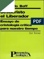 Jesucristo El Libertador Leonardo Boff