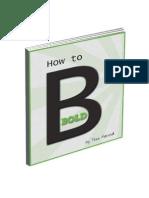 HowToBeBoldEbook