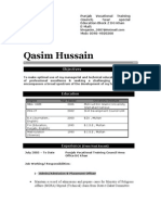 Qasim cv for HR