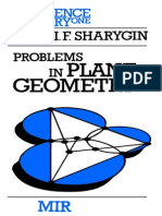 MIR - Science for Everyone - Sharygin I. F. - Problems in Plane Geometry - 1988
