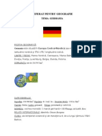 Geografie _ Referat - Germania Actuala