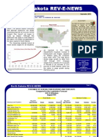 August 2013 North Dakota Revenue Report
