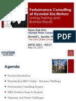 Hyundai Kia Performance Consulting