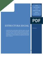 Estructura Social y Sus Elementos