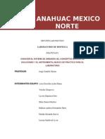 Anahuac Mexico Norte Laboratorio Practicas