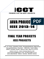 2013-14 Ieee Java Ieee Project Titles Yr 2013-2014, Ncct Java Ieee Project List