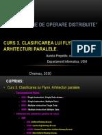 Curs3 2013 Arhitecturi Paralele Clasificarea Flynn Ro