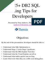 Themis Top 25 DB2 Tuning Presentation