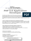PHP 5 Application Developer