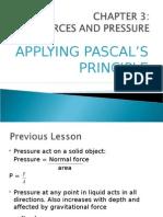 Applying Pascal's Principle