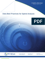 Data Best Practices for Spend Analysis