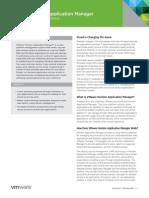 VMware Horizon App Manager Datasheet