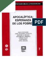 RIBLA 7 -Apocaliptica Esperanza de Los Pobres