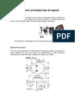 Transistores Principales Tipo de Capsula