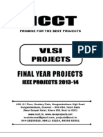 2013 IEEE VLSI Project Titles, NCCT - IEEE 2013 Matlab Project List