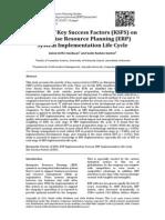 Journal of ERP Studies