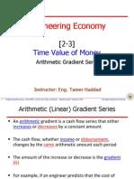 2450[2-3] Time Value of Money - Arithmetic Gradient Series