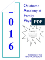 Advertiser Prospectus - 2015 OAFP Directory