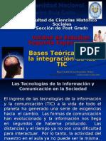 Bases Teóricas para la integración de las TIC