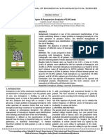 Hemoptysis a Prospective Analysis of 110 Cases
