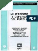 RIBLA 8-Militarismo y Defensa Del Pueblo.
