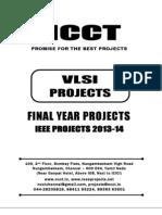 2013 Ieee Vlsi Project Titles, Ncct - Ieee 2013 Vlsi Project List