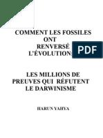 COMMENT LES FOSSILES ONT RENVERSÉ  L'ÉVOLUTION: