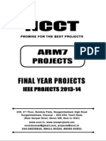 2013 Ieee Arm Project Titles, Ncct - Ieee 2013 Arm Project List