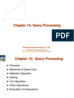 10 Ch12 Query Processing