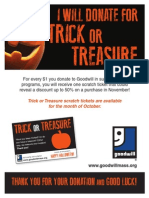 October Means Trick or Treasure at Goodwill!