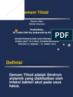 Demam Tifoid Shindy