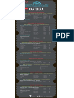 Cine. Programacion FICP Guatemala.