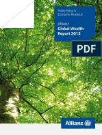 allianz [public policy & economic research] 2013_global wealth report 2013