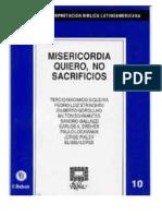 RIBLA 10-Misericordia Quiero No Sacrificio